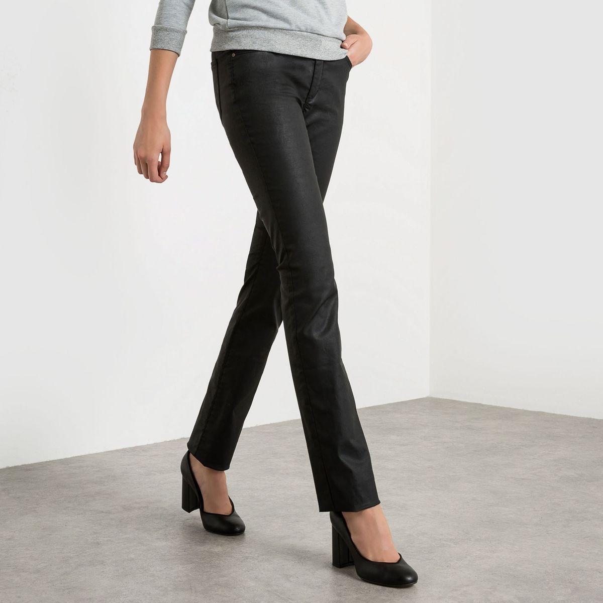 pantalon droit poches twill coton extensible 6bc09075702e