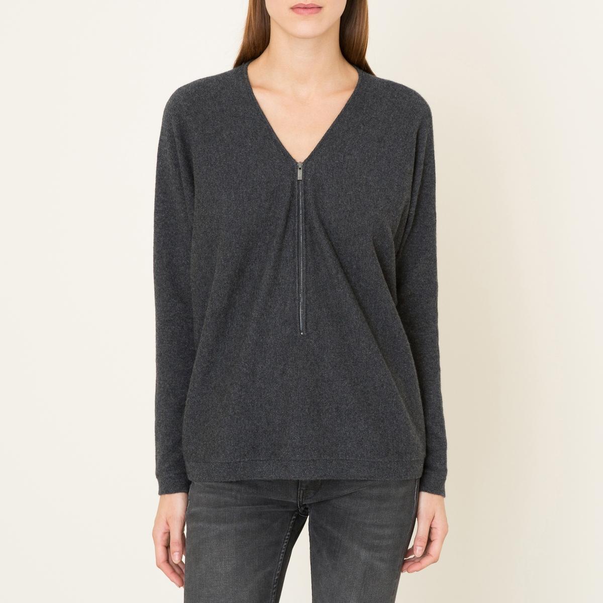 Пуловер из кашемираСостав и описание :Материал : 100% кашемиррубчик 99% кашемир, 1% эластанМарка : THE KOOPLES SPORT<br><br>Цвет: серый