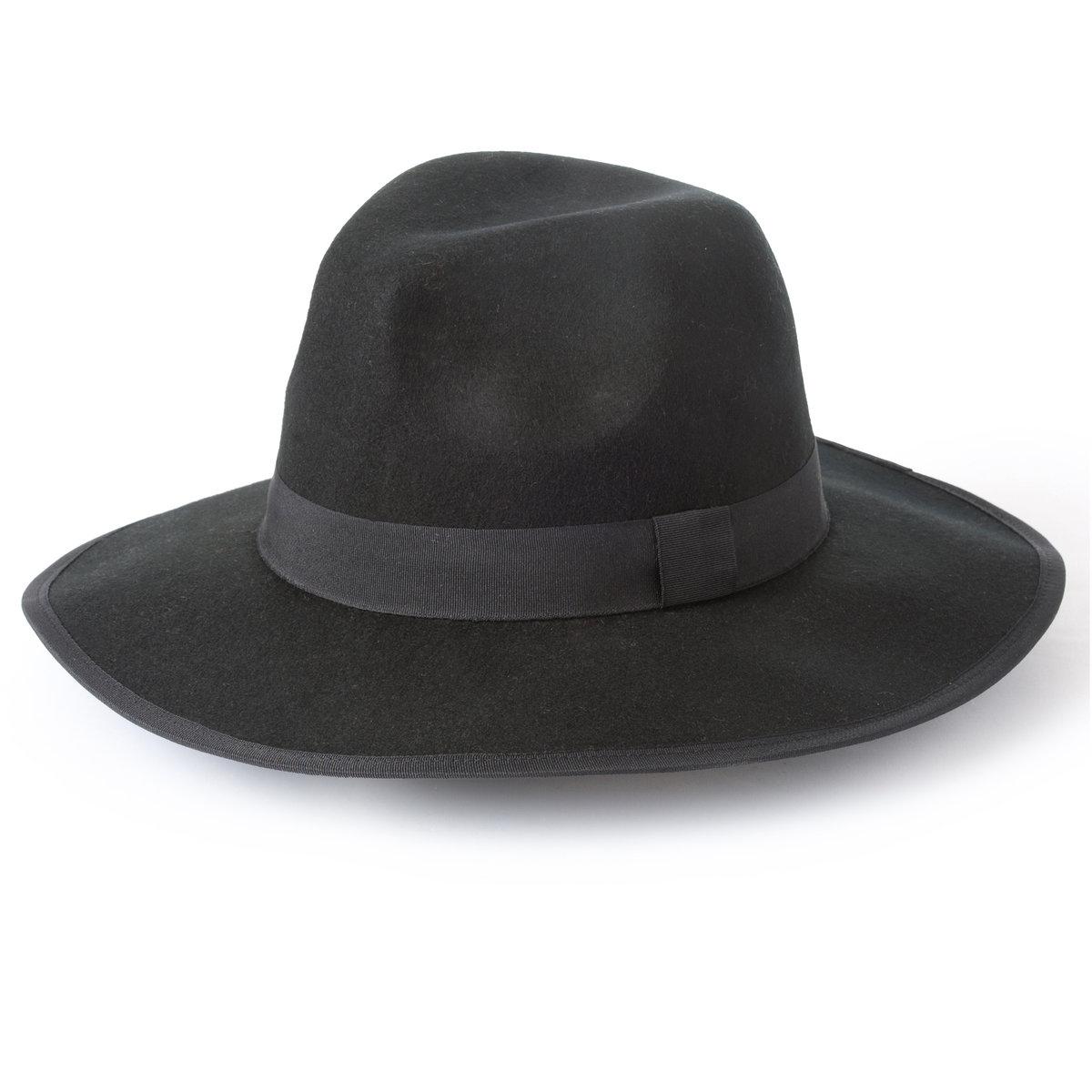 Шляпа из цветного войлока, 100% шерстиБренд : Soft Grey. Универсальный размер. Состав: цветной войлок из 100% шерсти<br><br>Цвет: черный