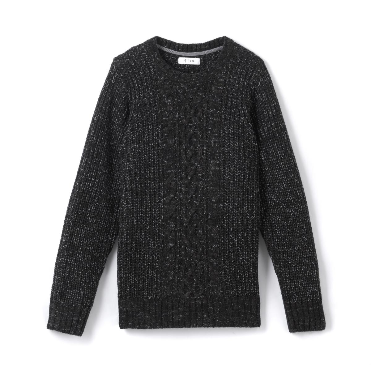 Пуловер с круглым вырезом, 10-16 лет
