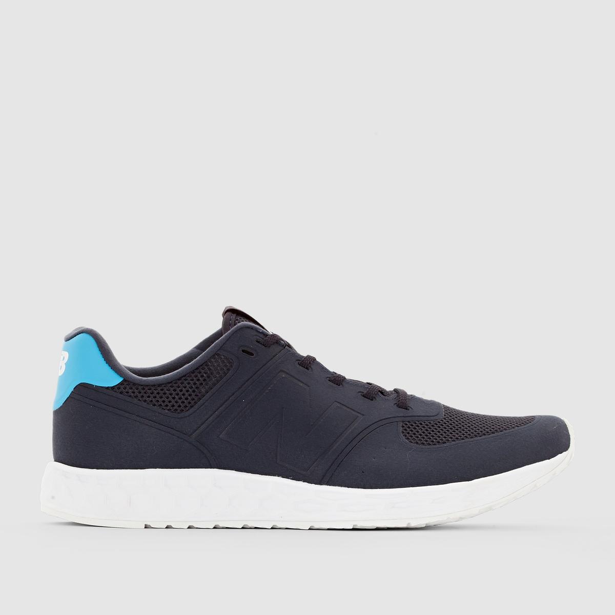 Кроссовки низкие - NEW BALANCE MFL 574 NBЗастежка: на шнуровке.      Преимущества модели: идеальный компромисс между модным дизайном и комфортом спортивной обуви. Новая цельнолитая подошва Fresh Foam из пеноматериала смягчает ударную нагрузку и не мешает естественному движению стопы.<br><br>Цвет: синий<br>Размер: 42
