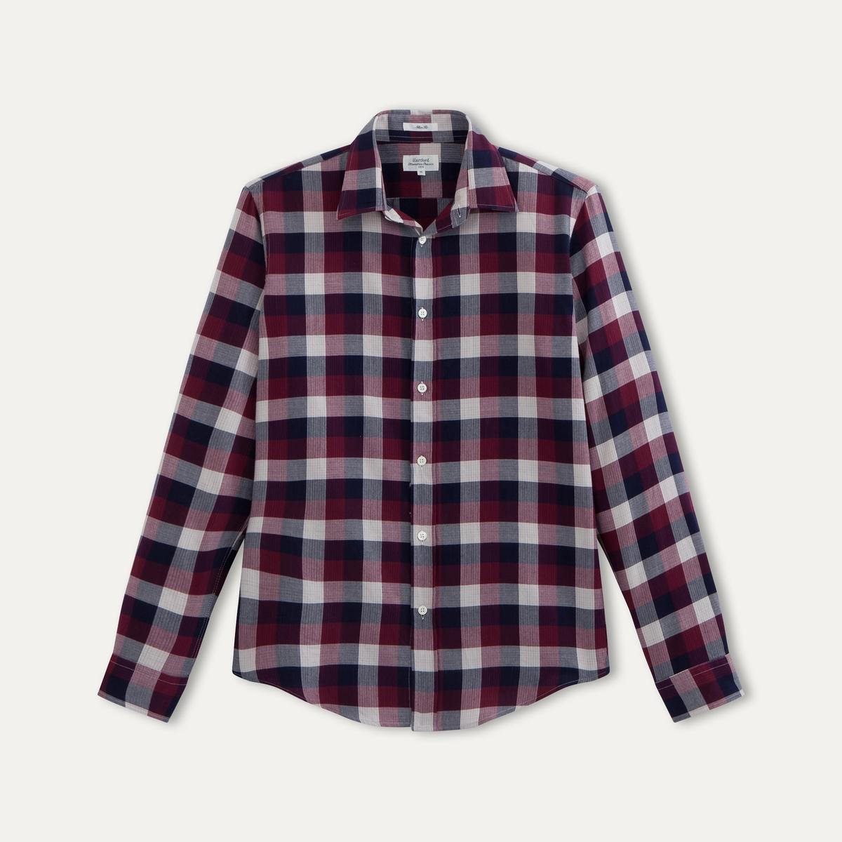 Рубашка в клетку от La Redoute
