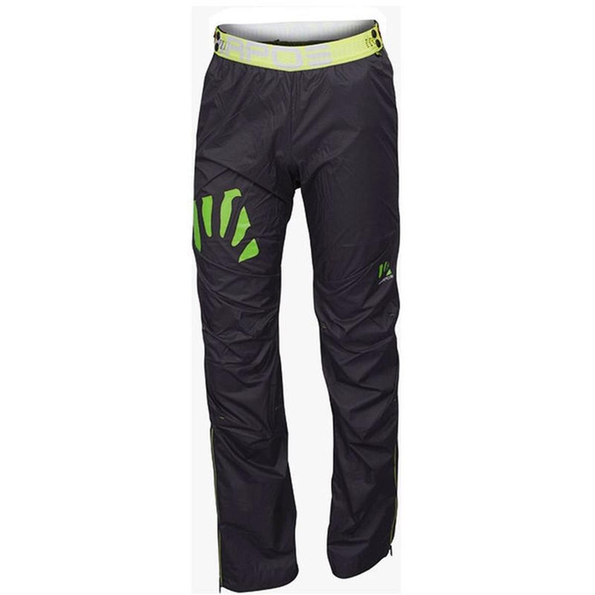 Lot - Pantalon - vert/noir