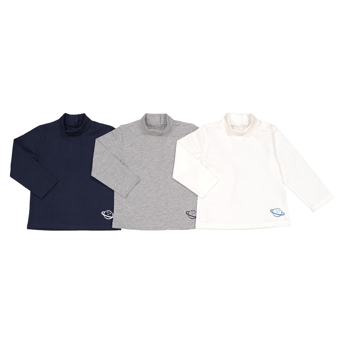 Комплект из 3 футболок с длинными рукавами, 1 мес. - 3 года La Redoute Collections