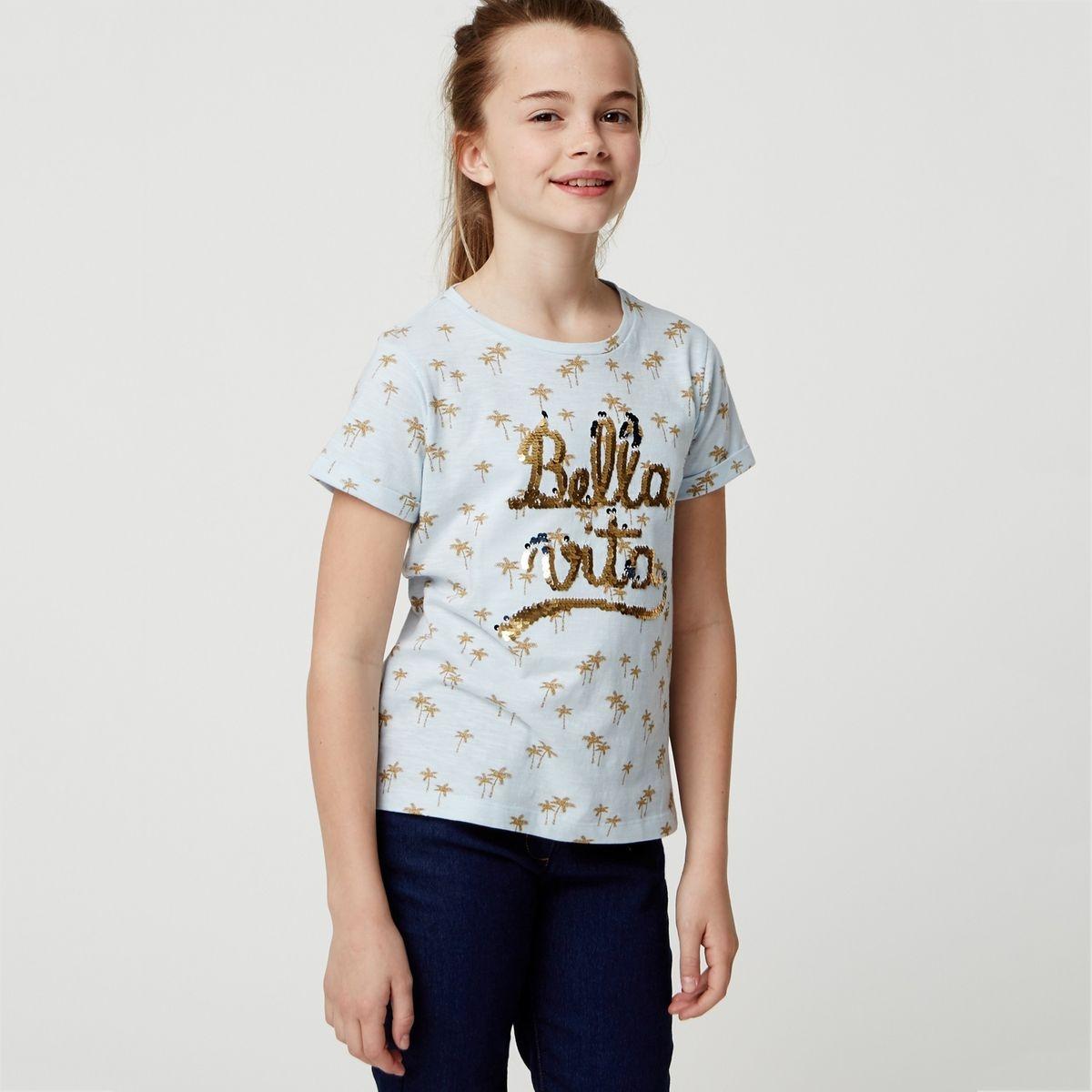 T-shirt manche courte imprimé
