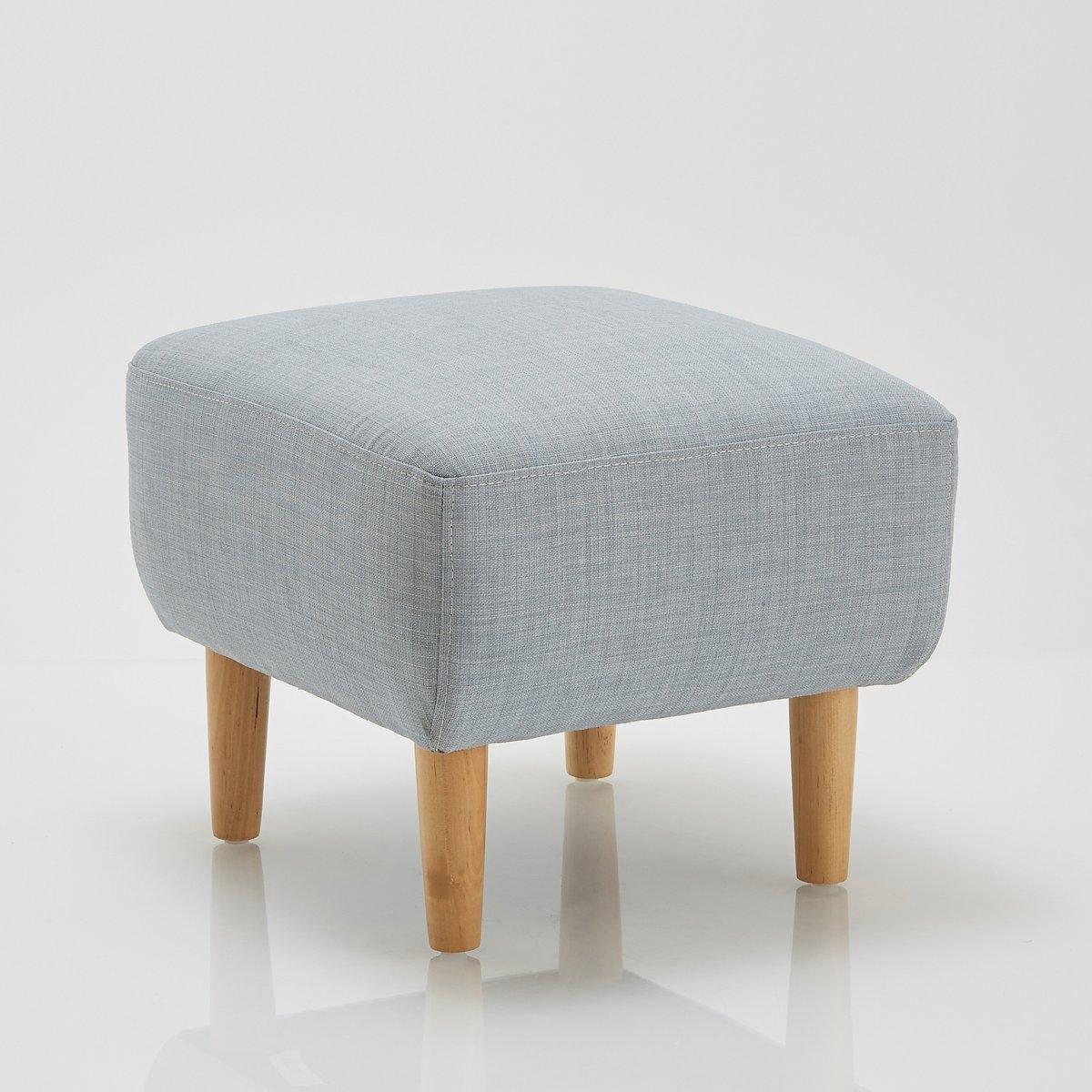 Подставка для ног JimiПодставка для ног Jimi . Из линейки мебели Jimi,эта подставка для ног или пуф предлагает вам вспомогательный практичный и удобный предмет мебели, выполненный в нордическом стиле, который создает очень уютную атмосферу \. Подходящие диван и кресла продаются на нашем сайте . Описание подставки для ног Jimi :Симпатичный широкий и удобный пуф квадратной формы.Характеристики подставки для ног  Jimi :Обивка :Слегка крапчатая ткань 90% полиэстера, 10% хлопка, несъемный чехол.Комфорт :Полиуретановый наполнитель 22 кг/м? (2 см), 30 кг/м? (5 см) и 16 кг/м? (1 см) + покрытие из полиэстеровых волокон.Характеристики: :Каркас из массива лиственницы и фанеры.На дуговых пружинах.Ножки из березы с НЦ-лакировкой, В15 см .Всю коллекцию Jimi вы можете найти на сайте laredoute.ruРазмеры подставки для ног Jimi :ОбщиеШирина : 47 смВысота : 39 смГлубина : 42 смСиденье : выс. 39 см.Размеры и вес ящика :1 посылка50 x 47 x 26 см.  6 кг.Доставка :Подставка для ног Jimi продается с отвинченными ножками.  Доставка до квартиры!Внимание ! Убедитесь, что посылку возможно доставить на дом, учитывая ее габариты.<br><br>Цвет: антрацит,розовый,синий,темно-синий