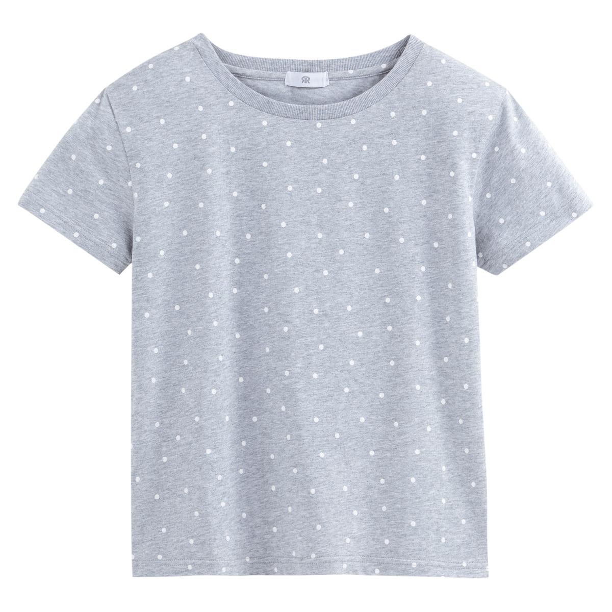 Camiseta con estampado de lunares