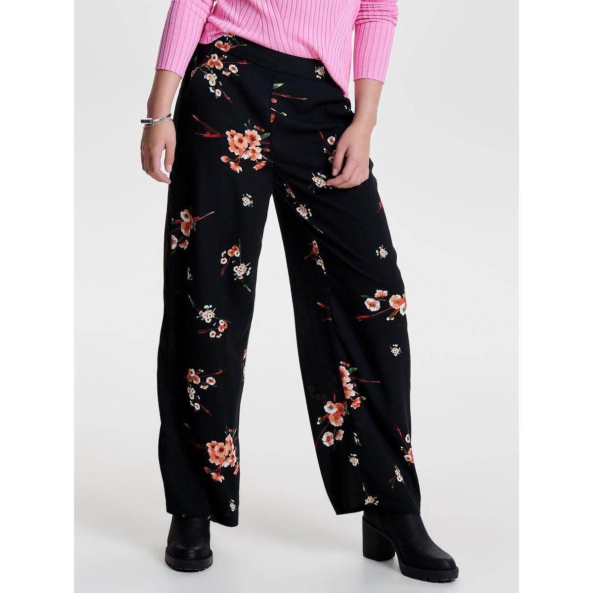 Pantalon Flower printed
