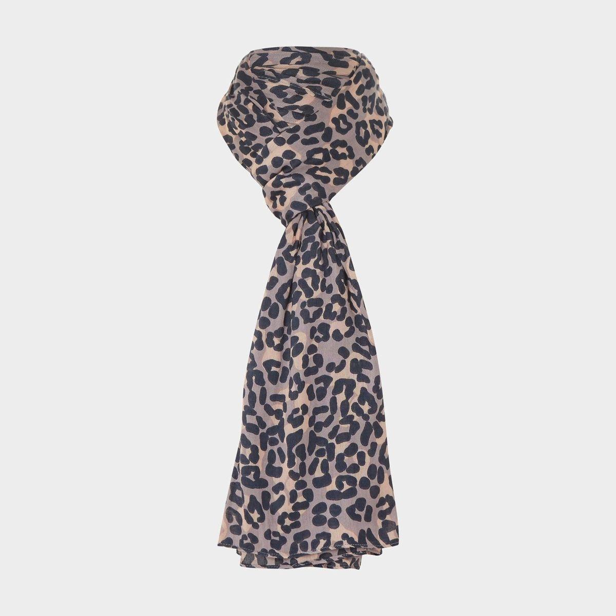 Foulard à imprimé léopard - LAYLLA