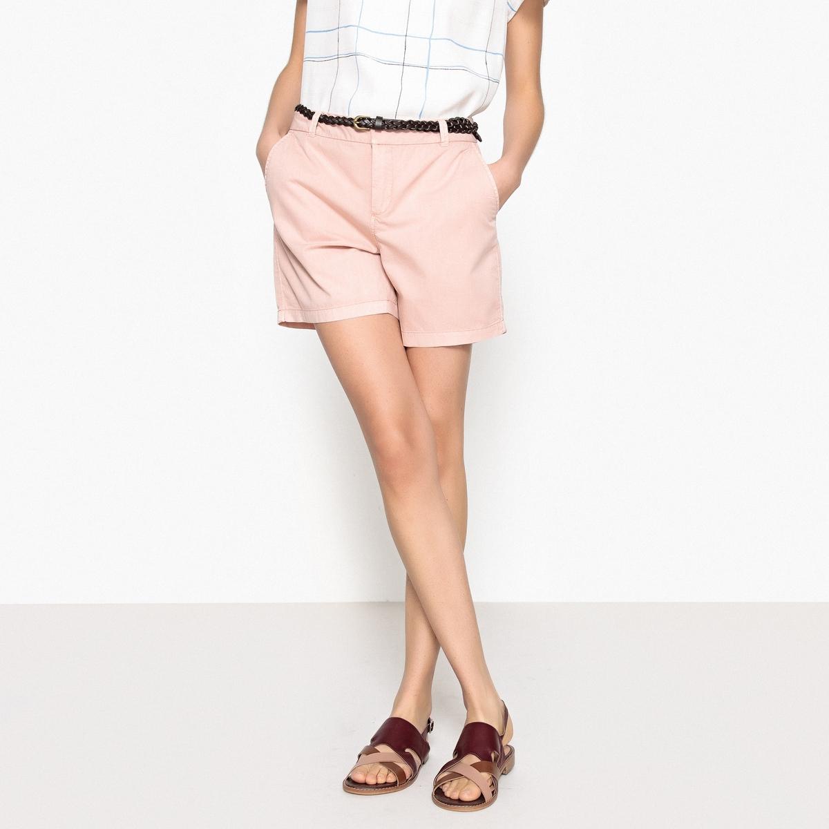 ШортыОписание:Детали •  Высота пояса : стандартная Состав и уход •  100% хлопок •  Следуйте рекомендациям по уходу, указанным на этикетке изделия<br><br>Цвет: светло-розовый