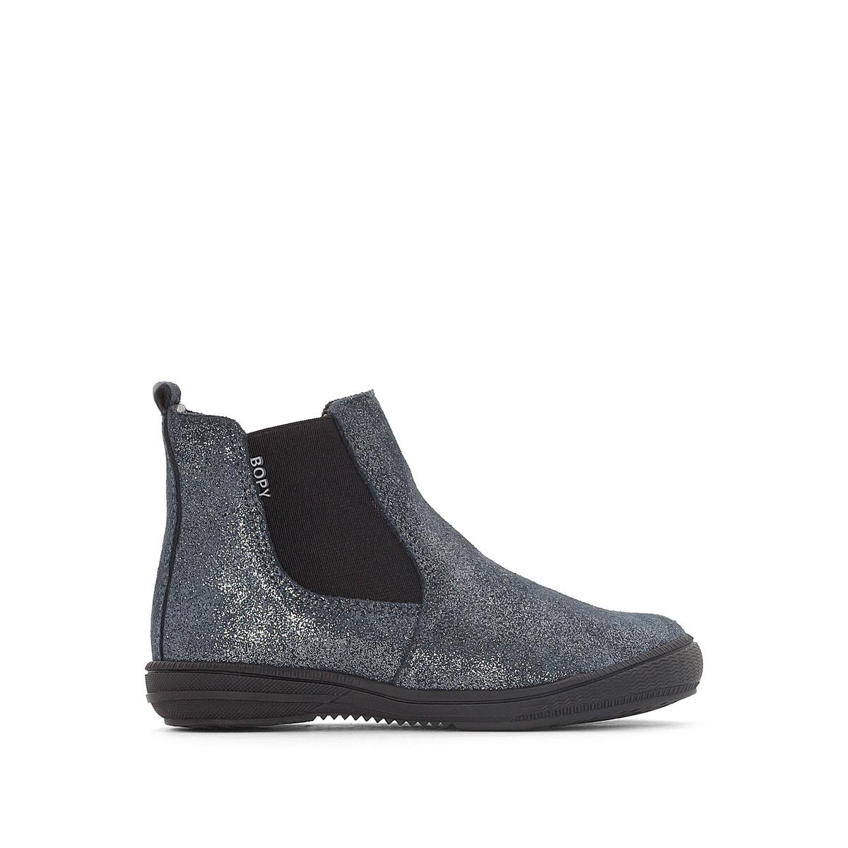 Ботинки-челси блестящие Sichou