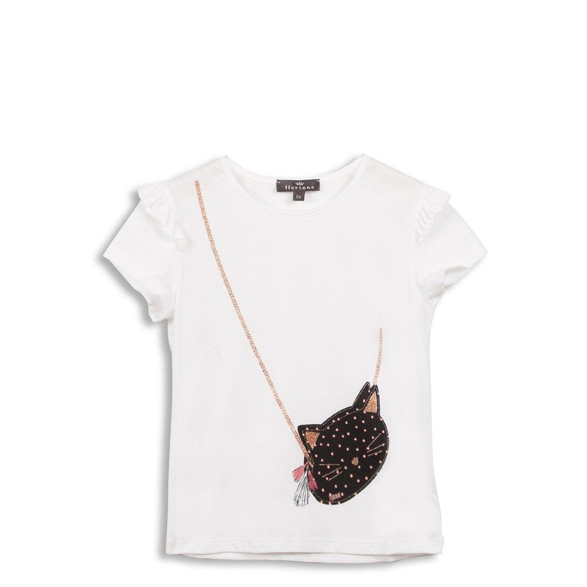 T-shirt avec sac imprimé