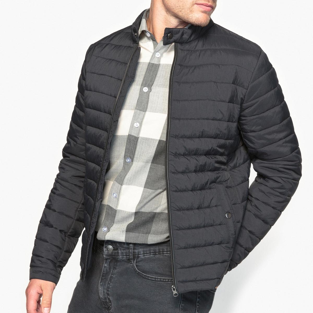 Куртка стеганая легкая, оригинальная, с водоотталкивающей пропиткой