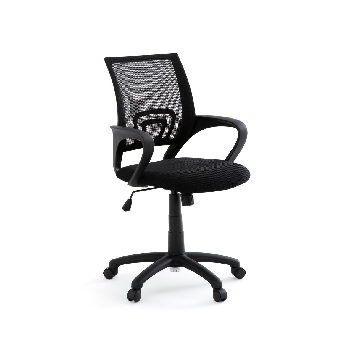 Кресло La Redoute Офисное вращающееся на колесиках Azzo единый размер черный блюдо vellarti бассет вращающееся диаметр 30 см 2170035