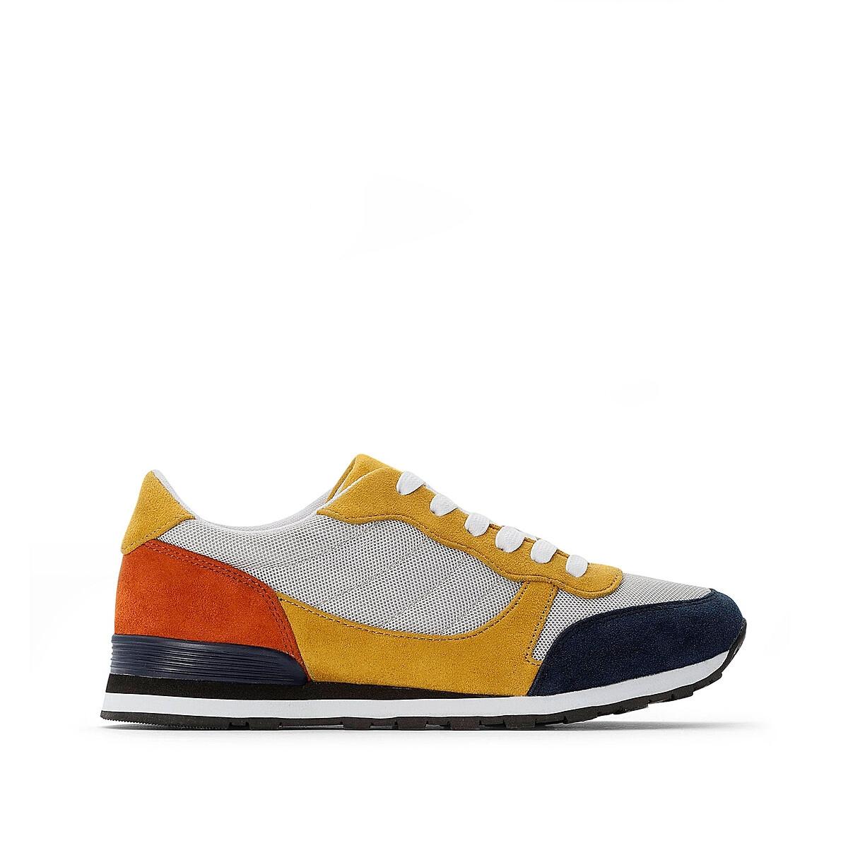 Кроссовки LaRedoute — На шнуровке разноцветные 38 разноцветный