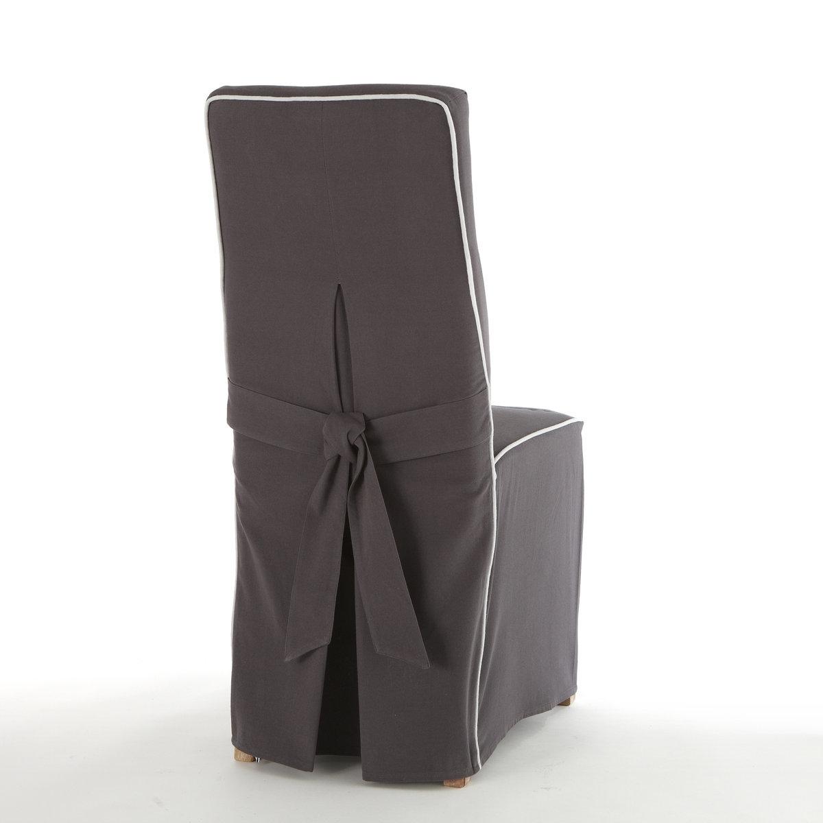 Чехол La Redoute Для стула Bridgy единый размер серый чехол для стула 128