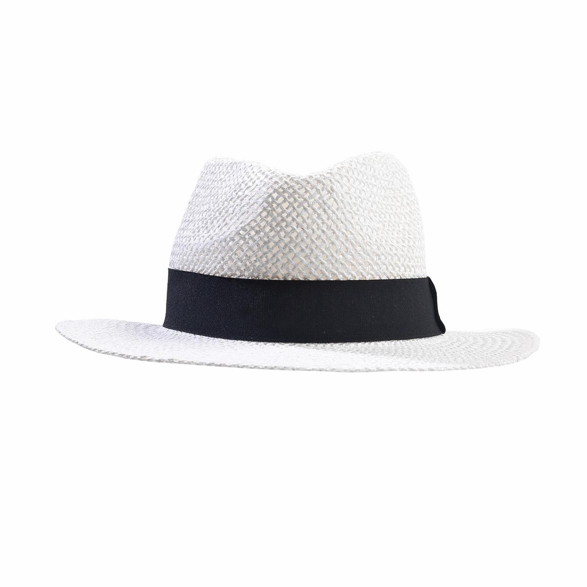 Шляпа соломенная, FedoraСоломенная шляпа с высокой тульей, Atelier R.Высокая тулья  шляпы, отделанной галуном, : делает ее незаменимой  для стильного лета ! Состав и описание :Материал : 100% соломыМарка : Atelier R.Размеры  : окружность головы 56 смОтделка галуном .<br><br>Цвет: белый<br>Размер: единый размер