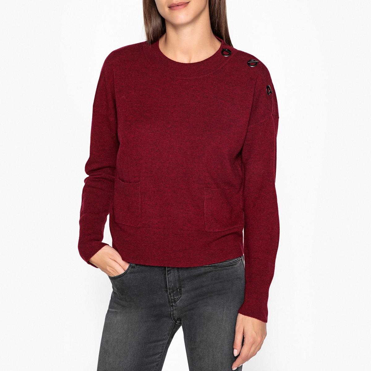 Пуловер с круглым вырезом из тонкого трикотажа из шерсти и кашемира AXEL настенная плитка ape ceramica abbey crema 31x60