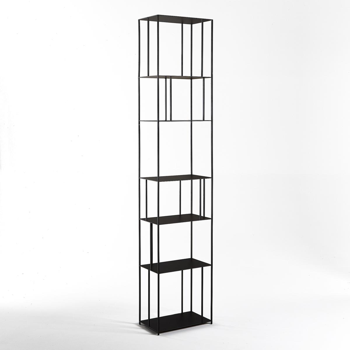 Стеллаж La Redoute Книжный из металла В см Parallel XL единый размер черный