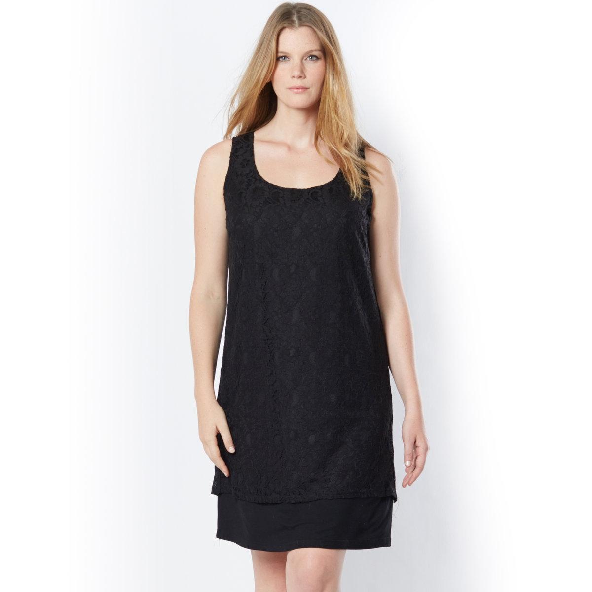 TAILLISSIME Платье кружевное