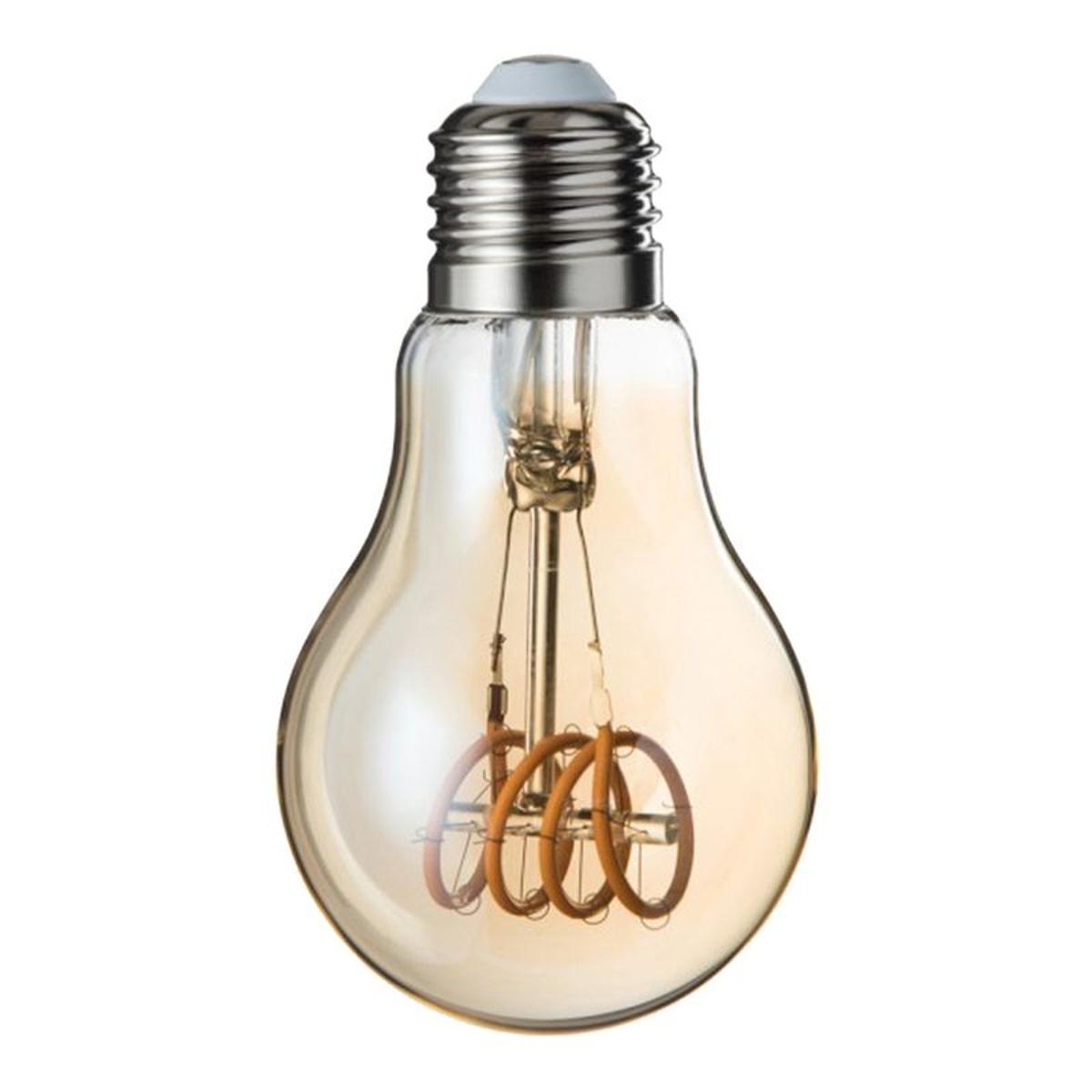 Ampoule Design LED A19 Ambre Loop E27