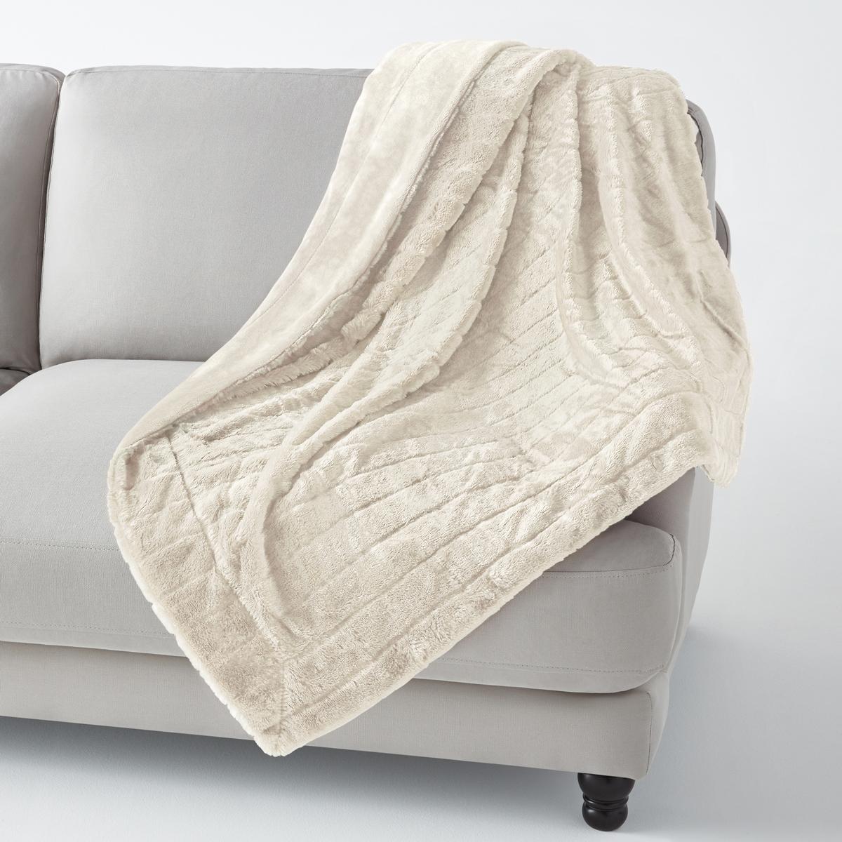 Плед из искусственного меха, VelfurНасладитесь мягкостью и теплом этого пледа из искусственного меха, который украсит диван в гостиной и согреет Вас зимним вечером. Плед из искусственного меха Velfur для комфорта и мягкости контакта . Состав пледа из искусственного меха Velfur  :100% полиэстера . Изнаночная сторона из велюра, 100% полиэстера.Размеры пледа из искусственного меха : 130 х 170 см.<br><br>Цвет: серо-коричневый,слоновая кость<br>Размер: 130 x 170 см