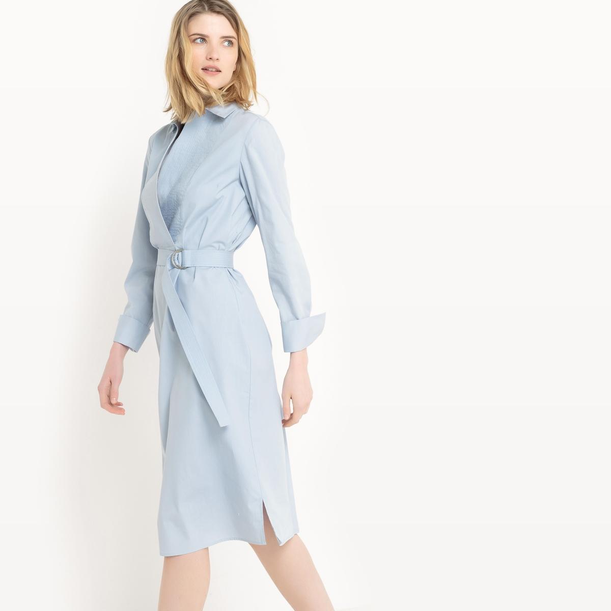 Платье-рубашка, 100% хлопок рубашка узкая 100% хлопок