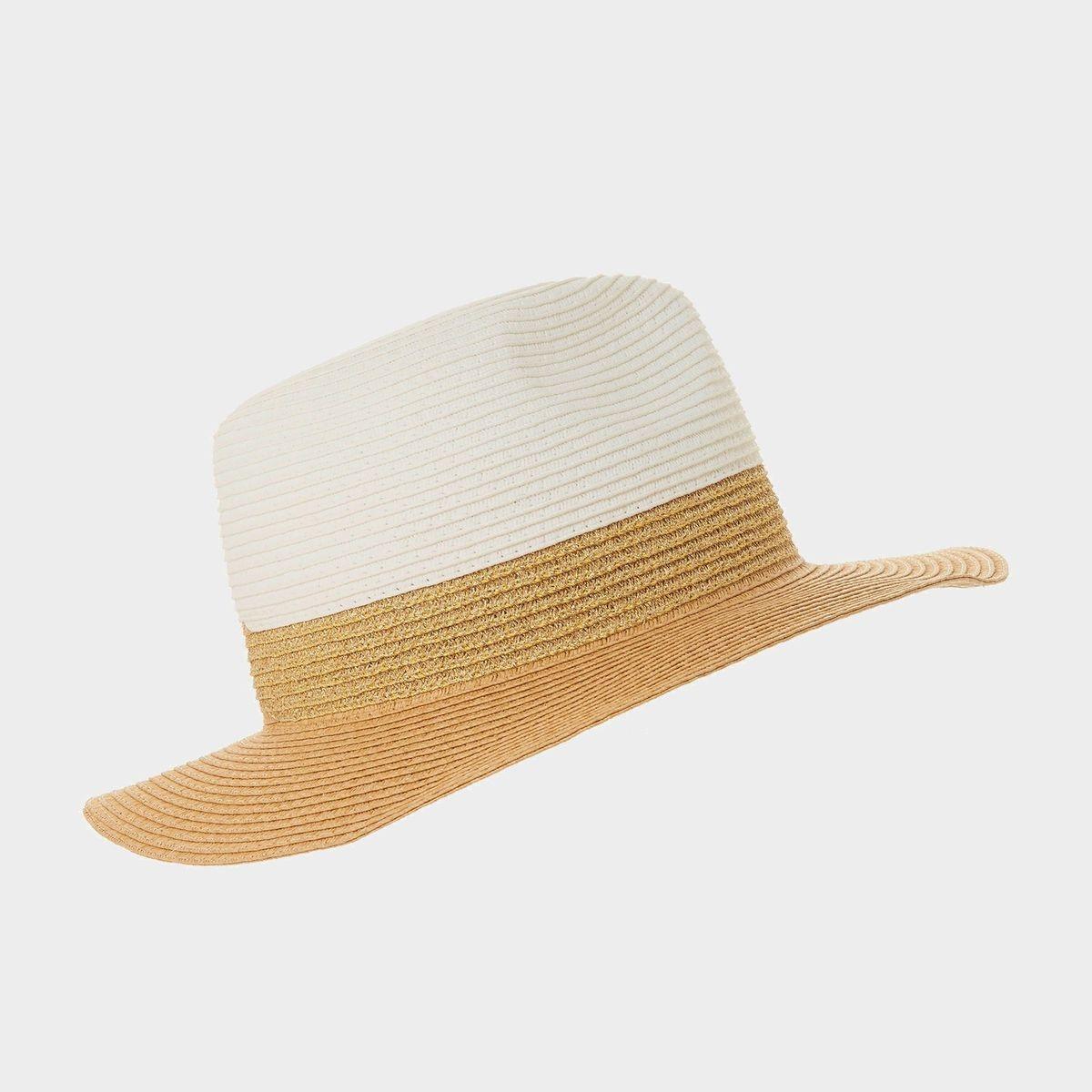 Chapeau de paille color block - FREESIA