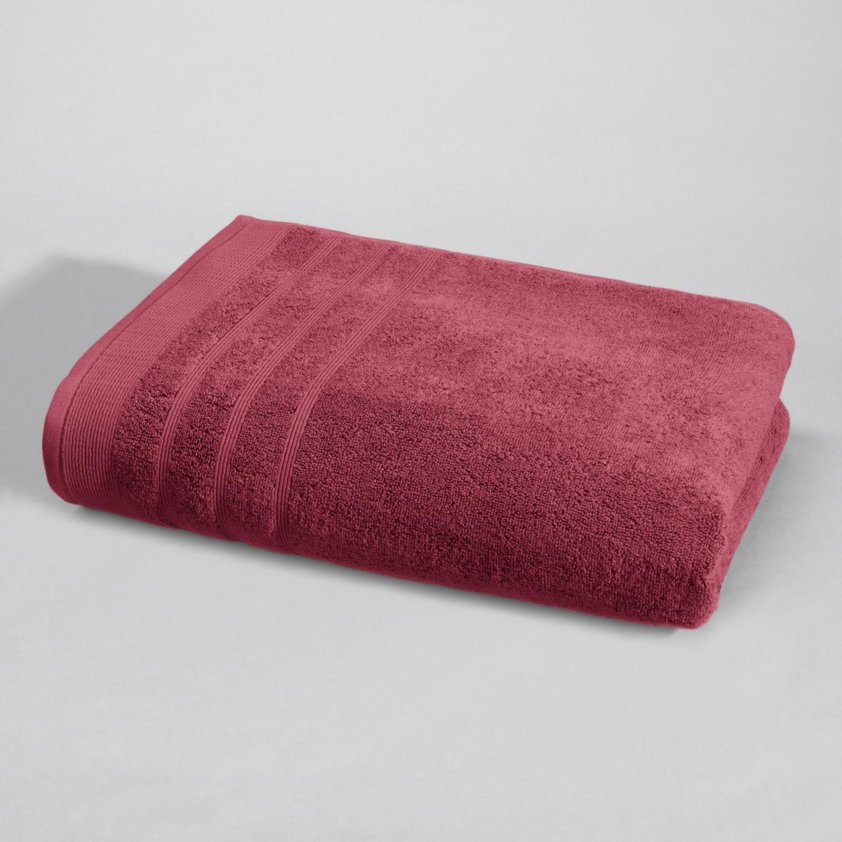 Полотенце La Redoute Банное гм Качество Best 70 x 140 см красный