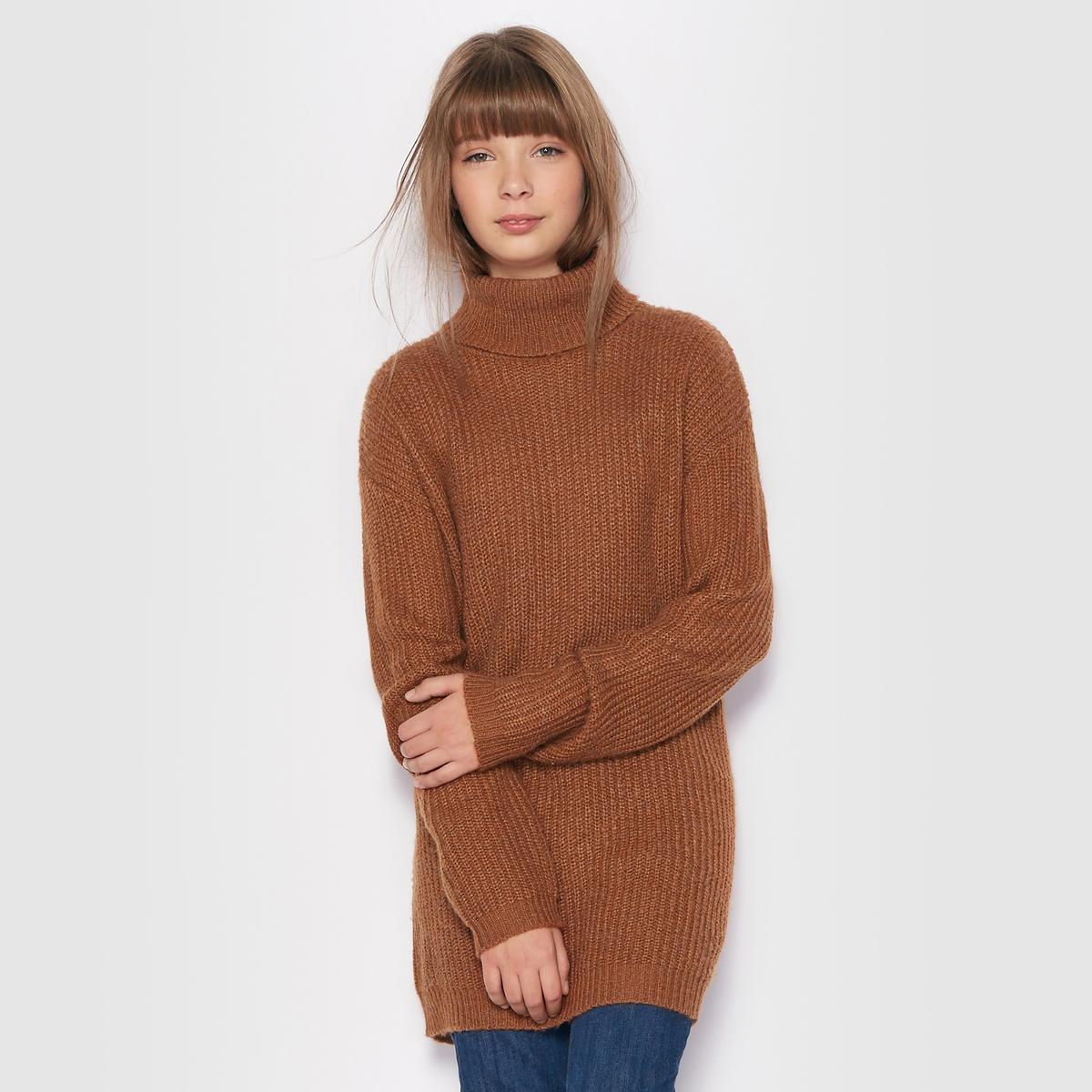 Пуловер с высоким воротником, 10-16 лет
