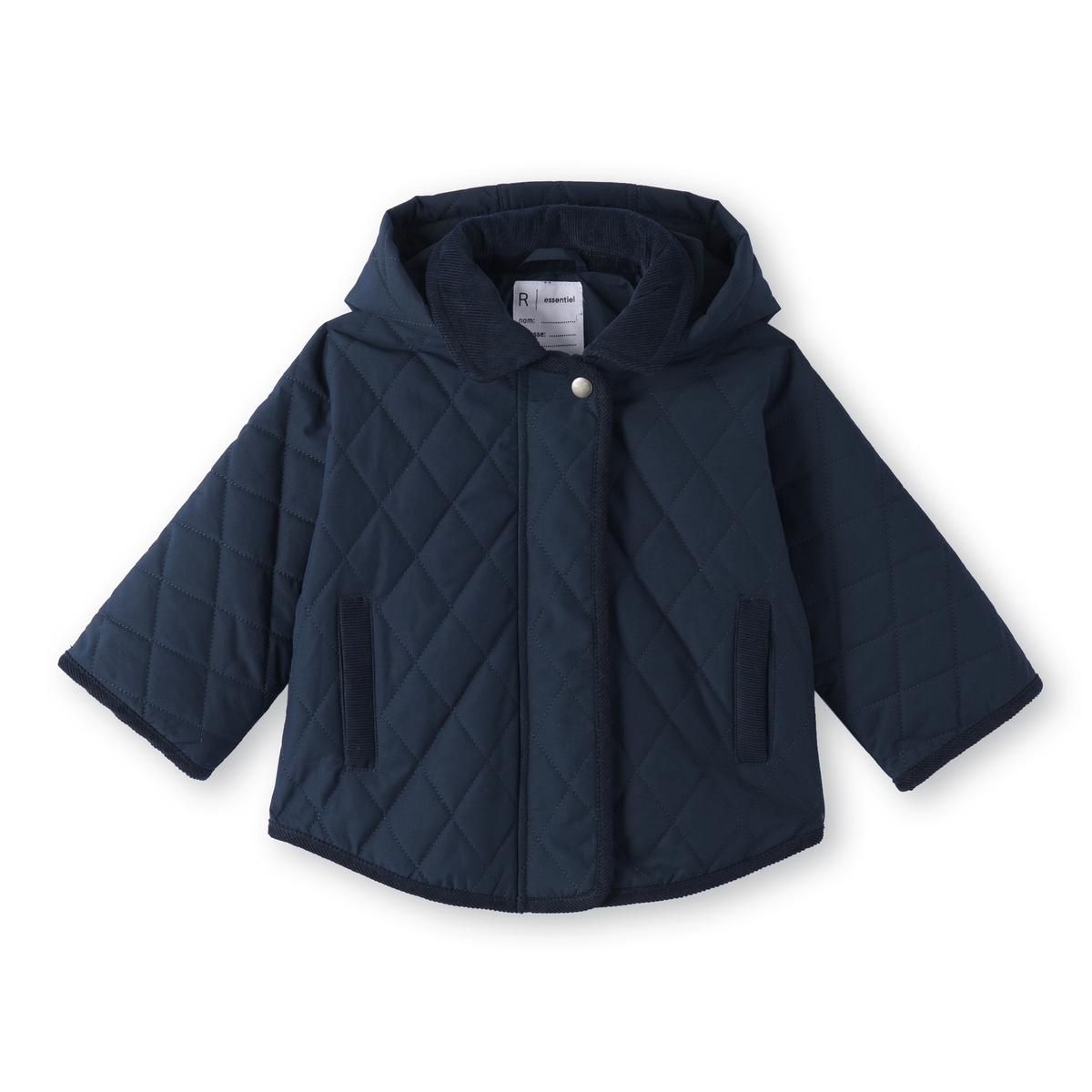 Пальто-кейп с капюшоном 3-12 ans
