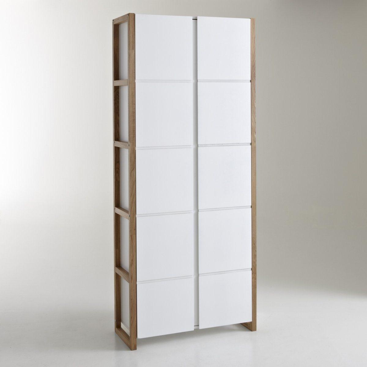 Шкаф LaRedoute Книжный Compo единый размер белый