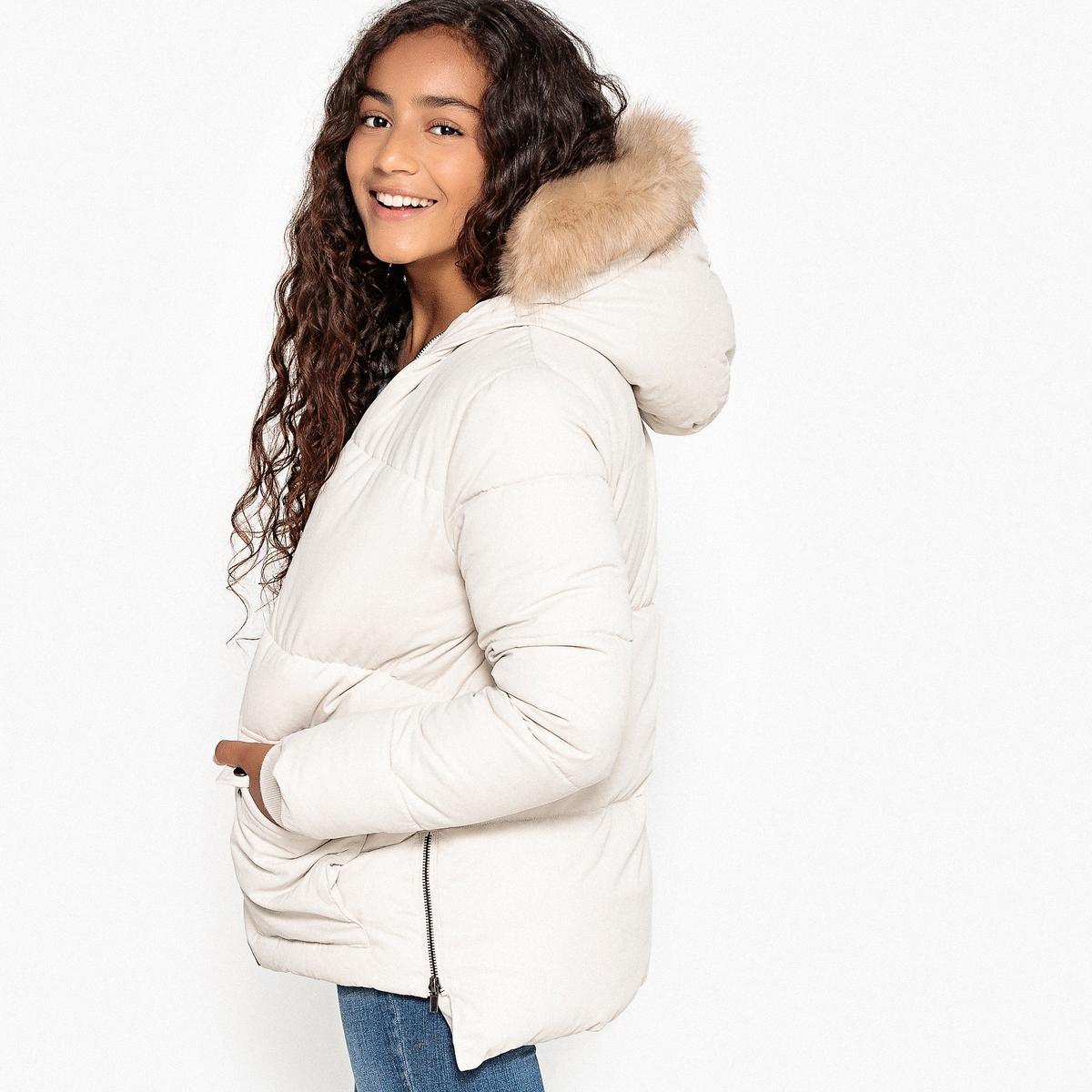 Куртка-парка с капюшоном 10-16 лет
