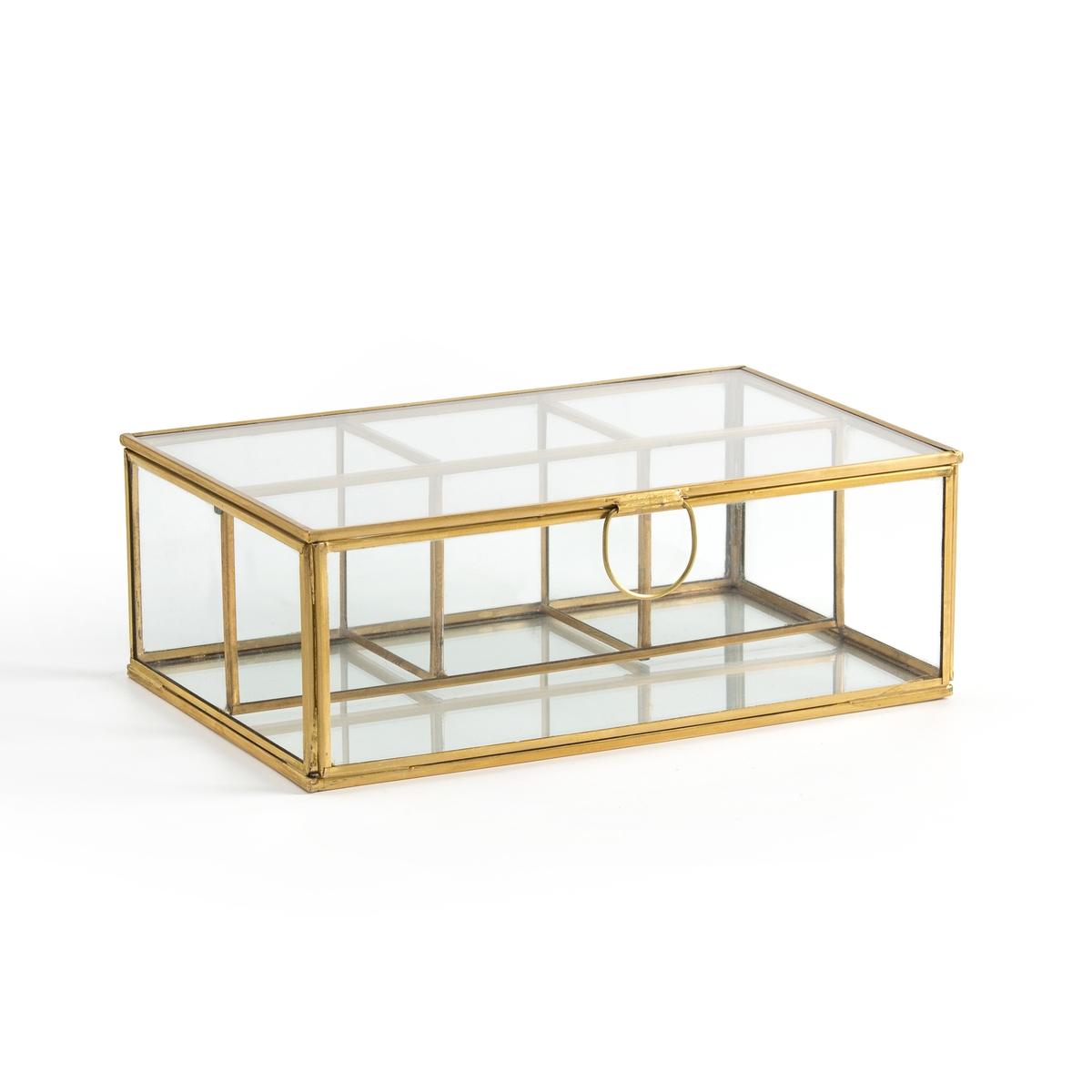 Коробка-витрина La Redoute С несколькими отделениями Uyova единый размер желтый зеркала la redoute uyova в форме домика единый размер желтый