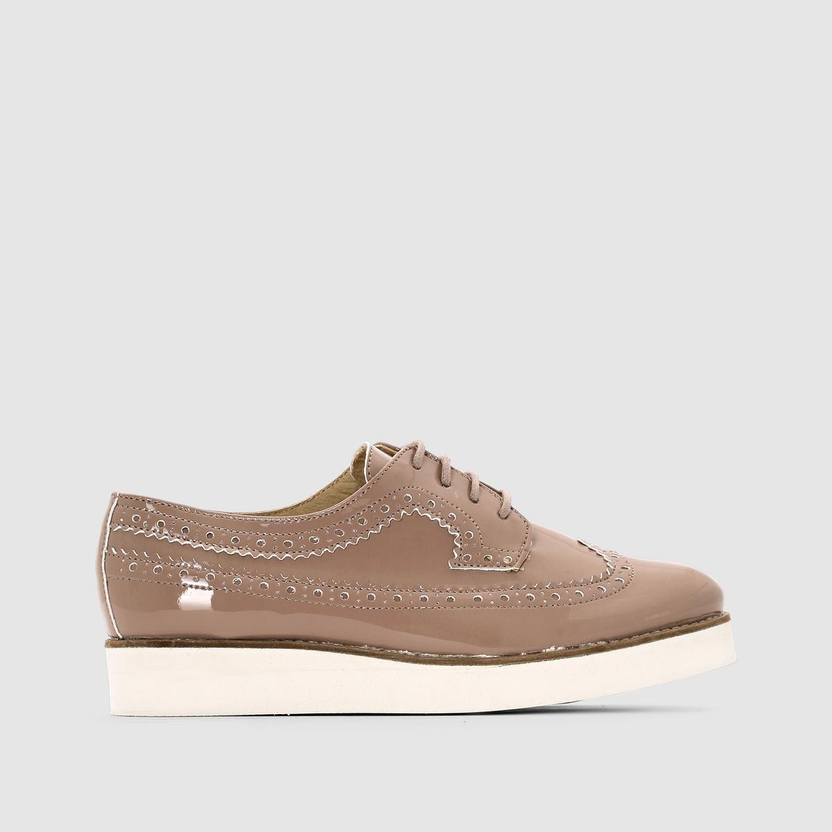 купить Ботинки-дерби из лакированной кожи дешево