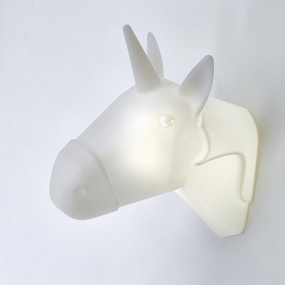 Applique trofeo testa di unicorno Pegasy