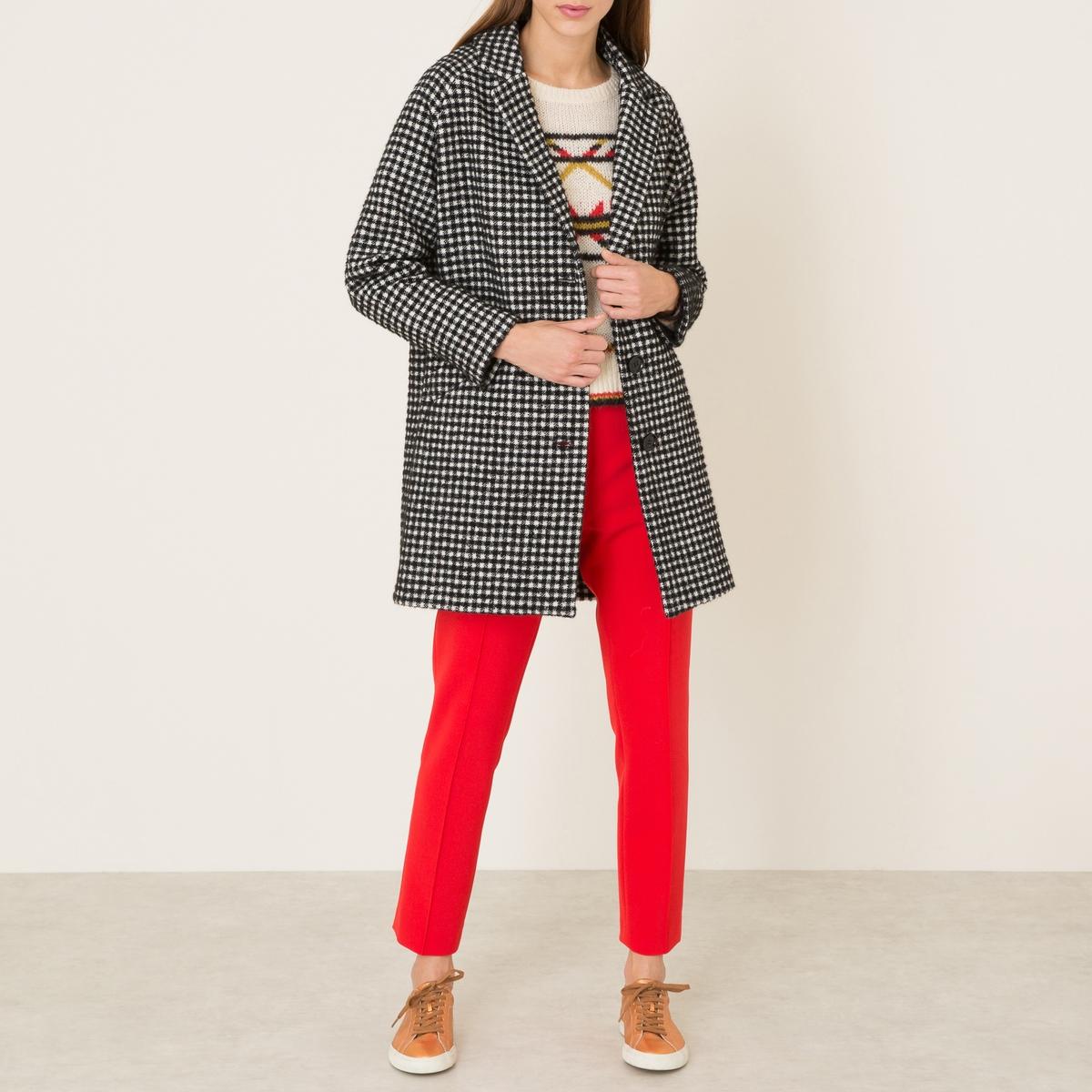 Пальто женское в клетку женское бикини brand new 2015 ab8683