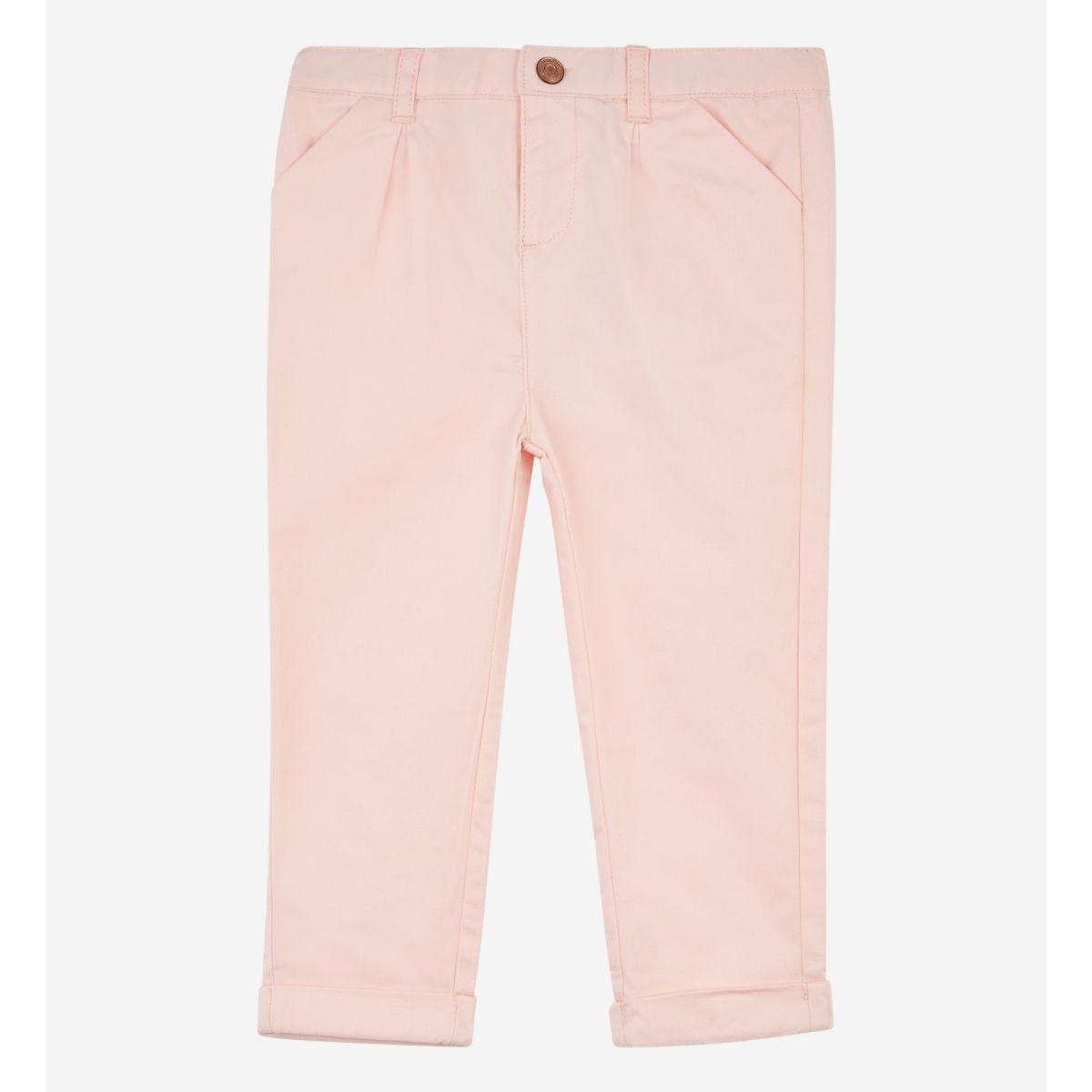Pantalon En Twill Coton Camelia