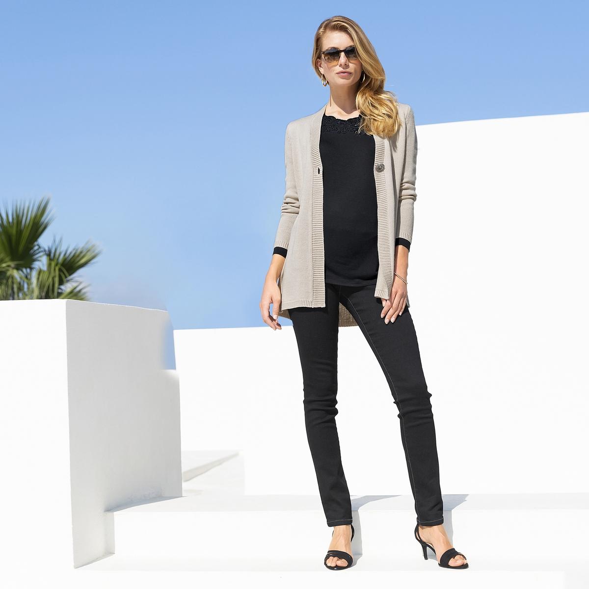 Imagen secundaria de producto de Vaqueros skinny con cintura elástica, sin cierre - Anne weyburn
