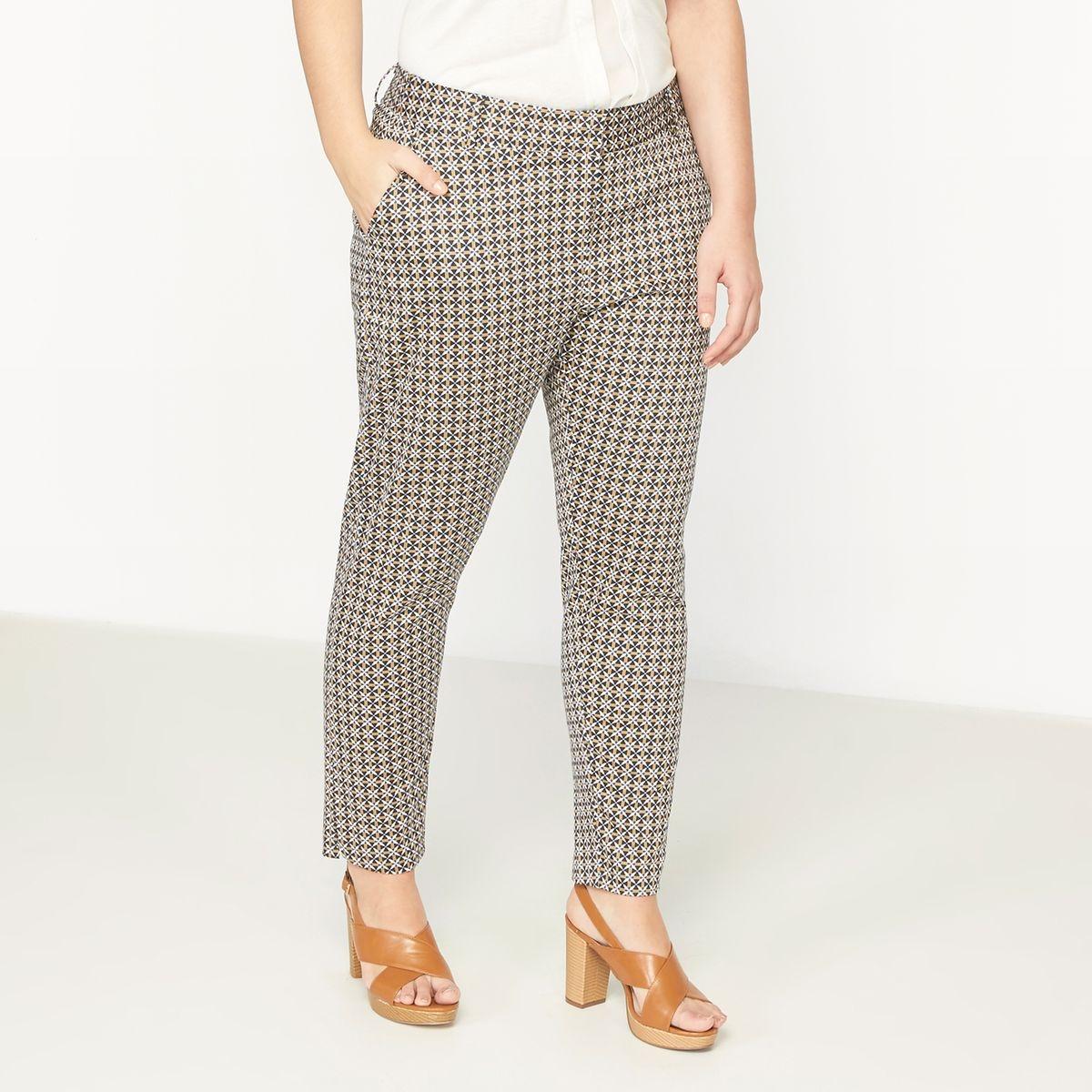 Pantalon fuselé imprimé