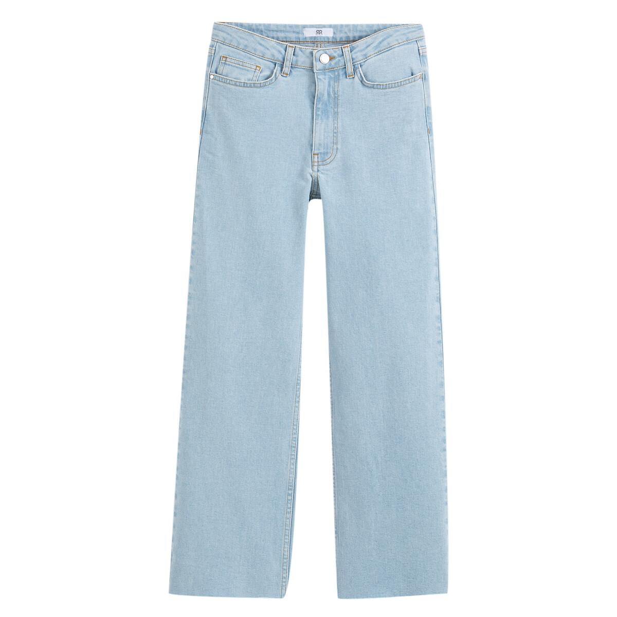 Джинсы-кюлоты LaRedoute La Redoute 44 (FR) - 50 (RUS) синий джинсы la redoute ультра прочные 7 синий