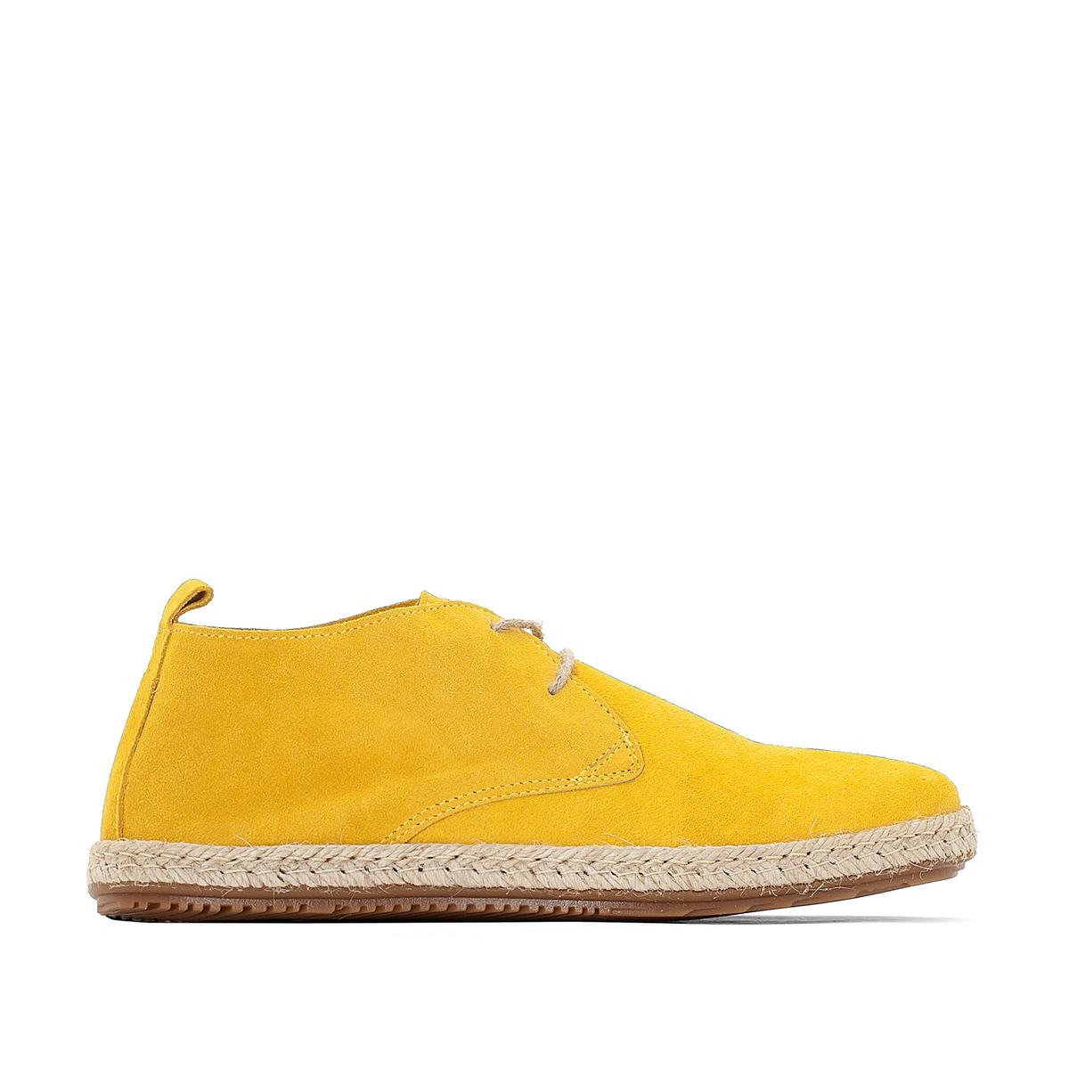 Ботинки-дерби в стиле эспадрилий