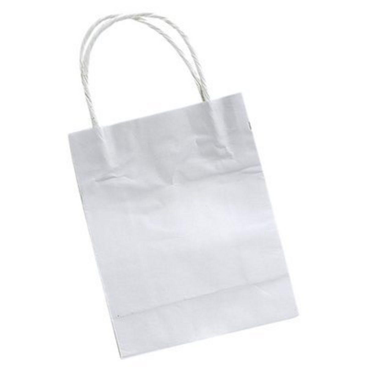FOLIA Sacs en papier, petit format 12 cm