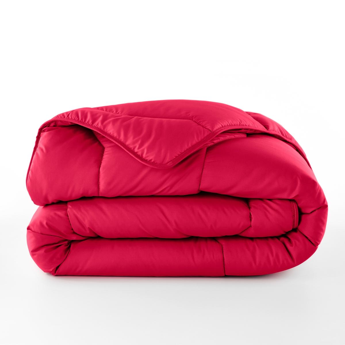 Одеяло La Redoute Из синтетики 175 гм 240 x 220 см красный