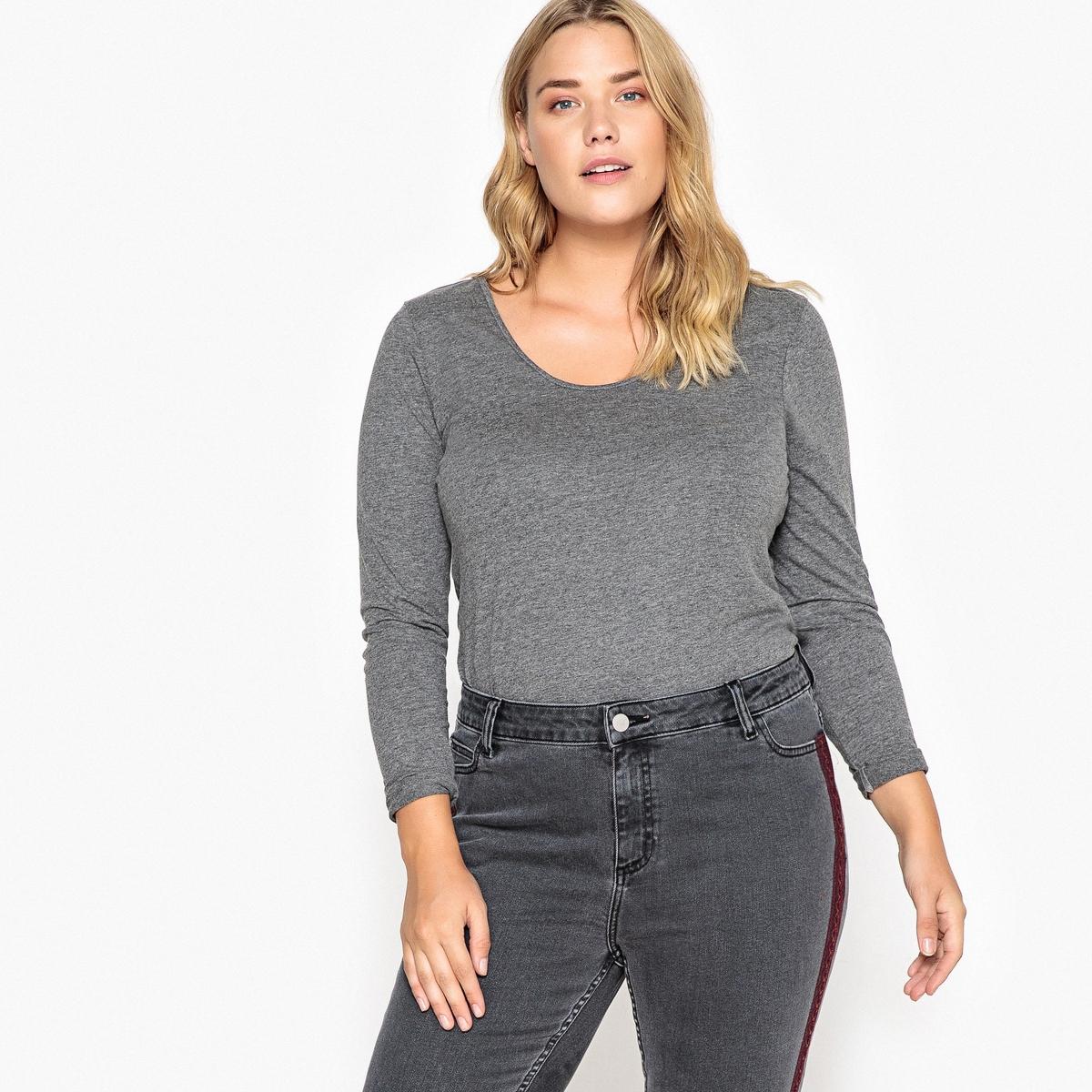 Confezione da 2 T-shirt scollo rotondo maniche lunghe