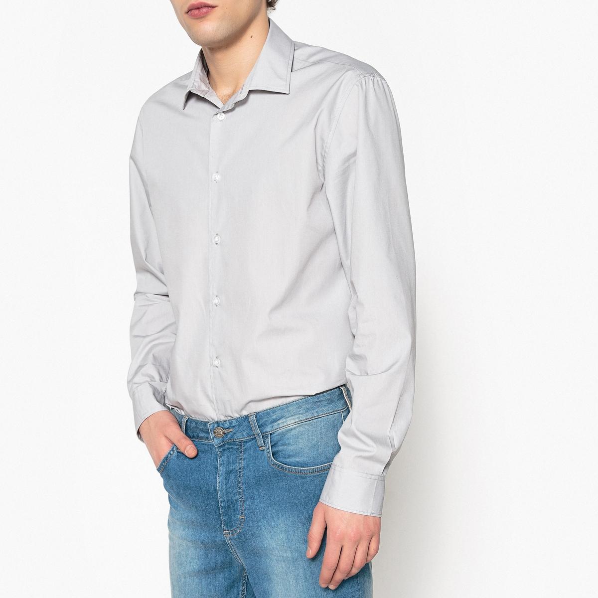 Рубашка прямого покрояРубашка с длинными рукавами. Стандартный (прямой) покрой. Классический воротник со свободными кончиками. Легкая глажка.Состав и описание : Материал          55% хлопка, 45% полиэстераДлина       78 см Марка          R edition Уход: :Машинная стирка при 30° на деликатном режиме с вещами подобного цвета Стирка и глажка с изнаночной стороныСухая чистка и машинная сушка запрещеныГладить на низкой температуре<br><br>Цвет: серый