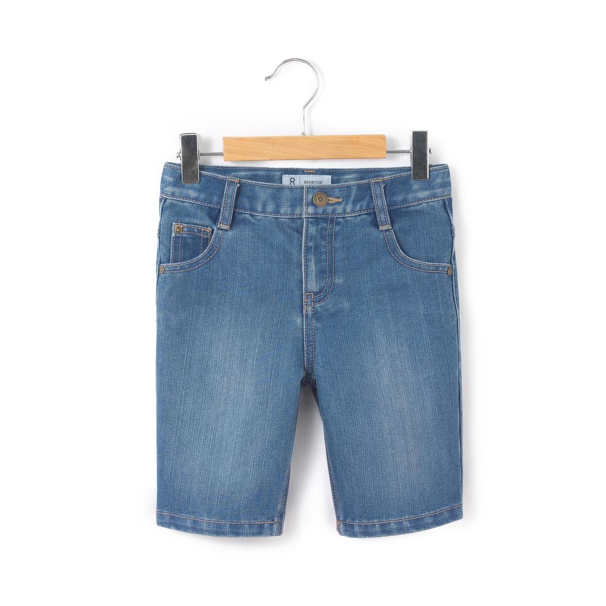 Бермуды джинсовые 3-16 лет