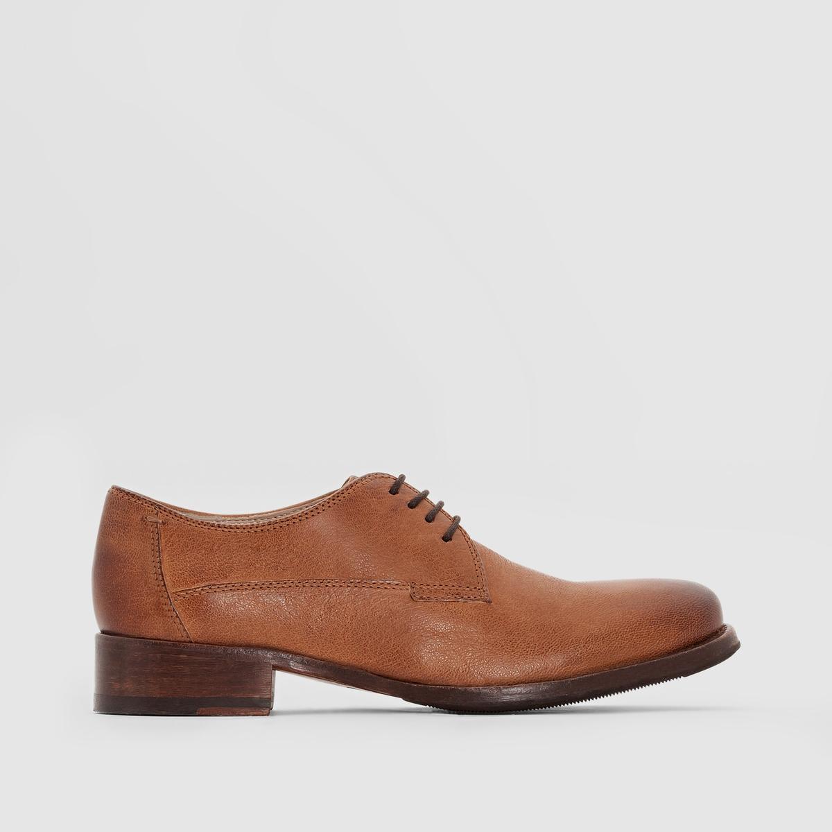 Ботинки-дерби CLARKS TOMINA LUCAПреимущества : ботинки-дерби CLARKS с технологией Cushion Plus для классического внешнего вида. Кожа с эффектом старения, элегантная форма.<br><br>Цвет: темно-бежевый<br>Размер: 39.38