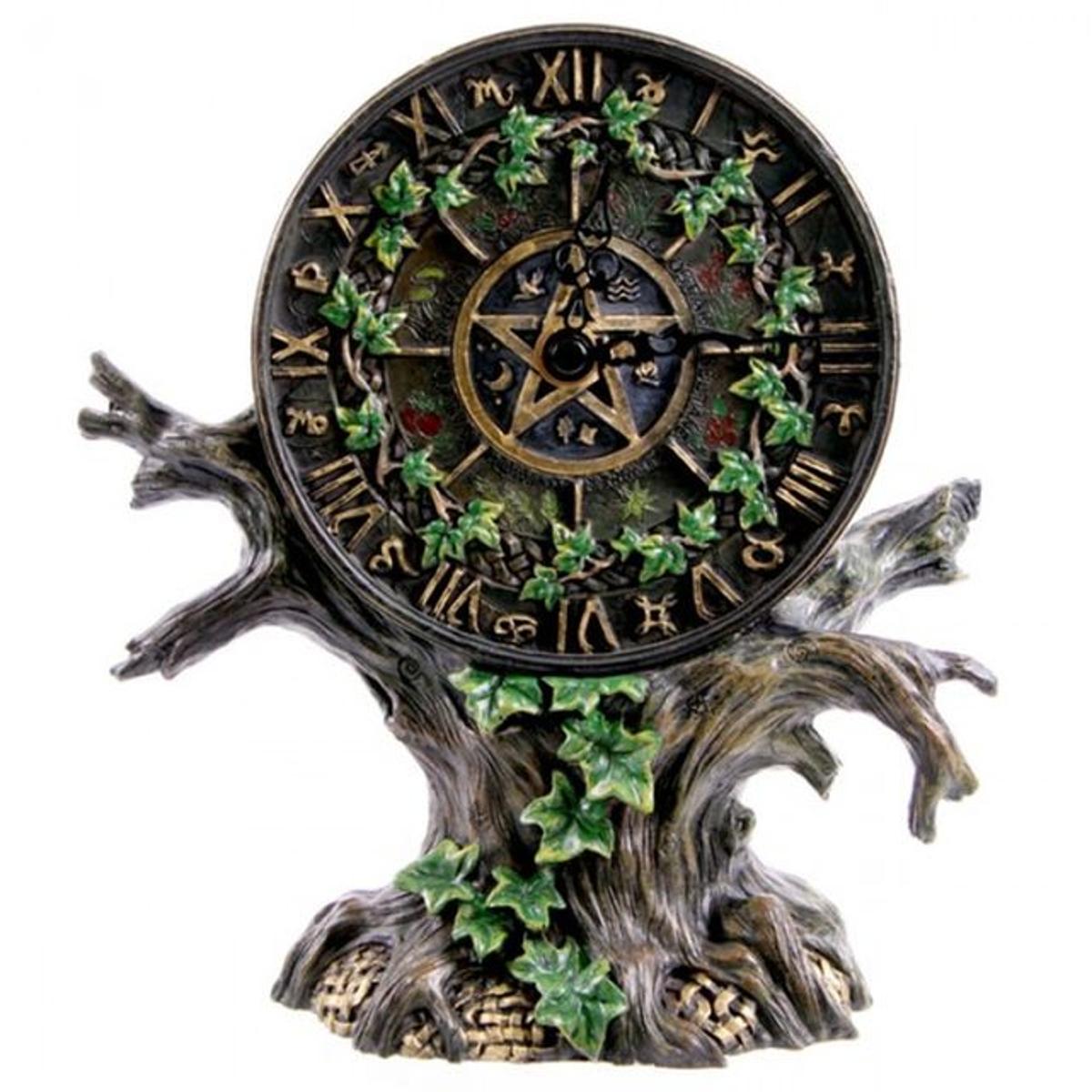 Horloge ou Pendule Arbre astrologie 22 cm