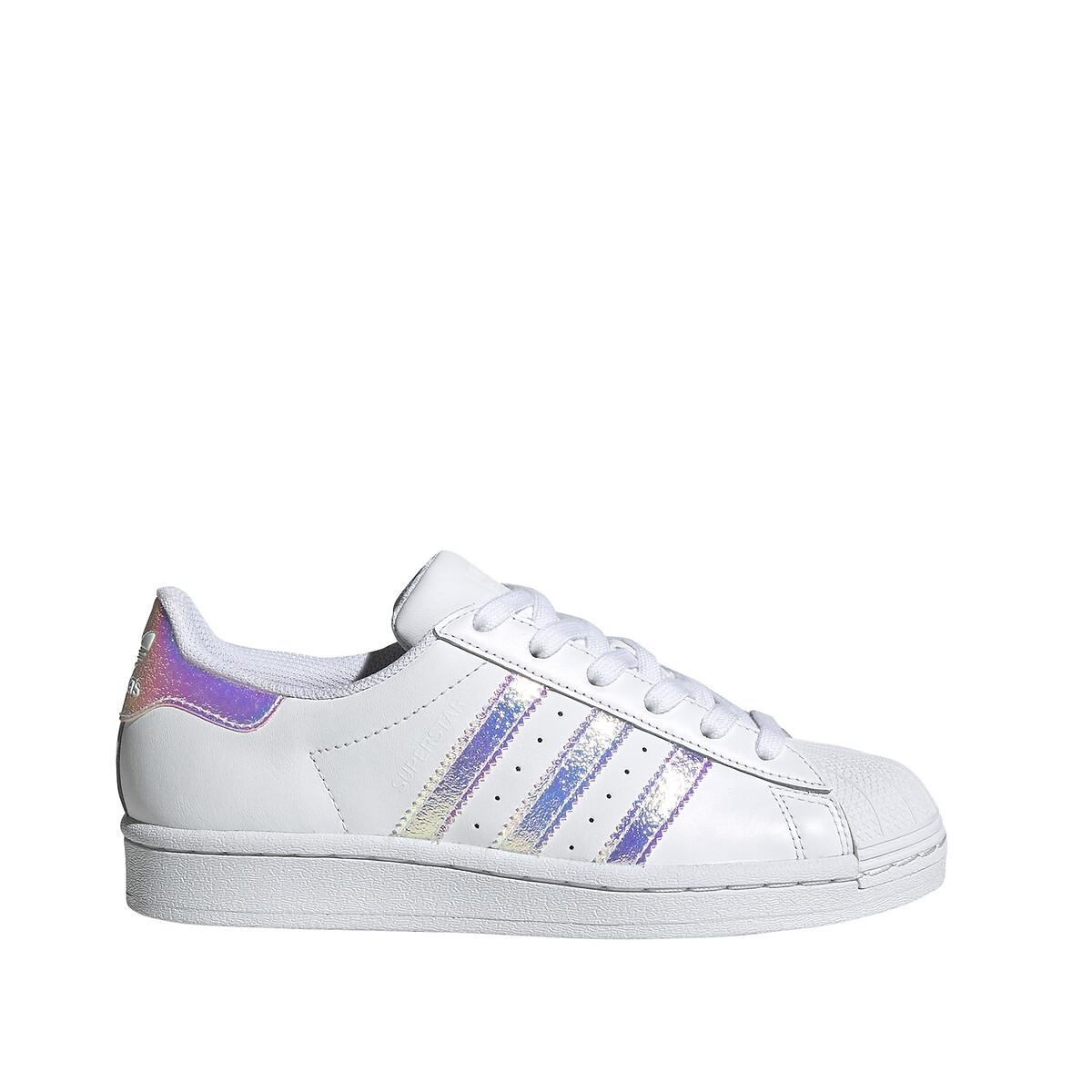 Adidas Originals Superstar Junior White/Iridescent Kind online kopen